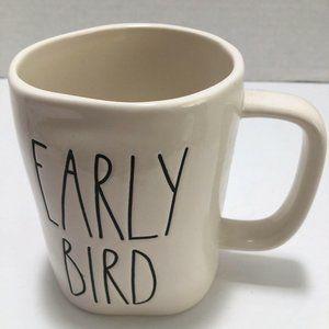 Rae Dunn Early Bird Mug Large Letter Magenta LL